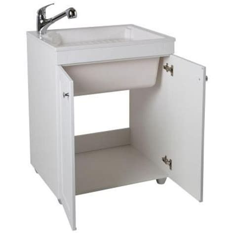 glacier bay laundry tub utility sink bays and home depot on