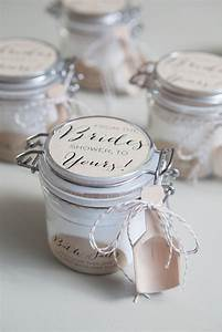 Learn how to make the most amazing bath salt gifts bath for Shower favors wedding