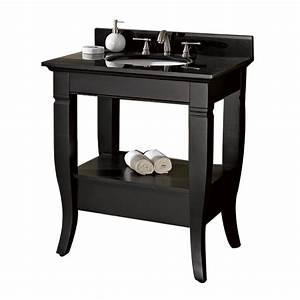 30quot MILANO Bathroom Vanity Black Bathroom Vanities