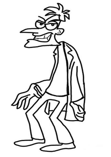 Ausmalbilder Zum Ausdrucken Phineas Und Ferb Terrific Ausmalbilder