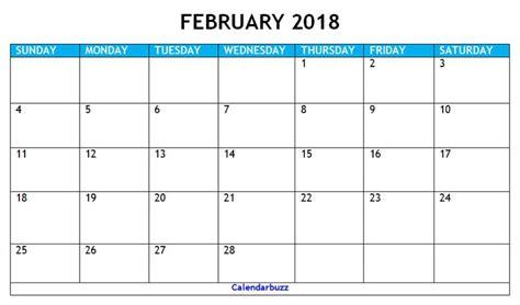 february  calendar printable  calendar printables