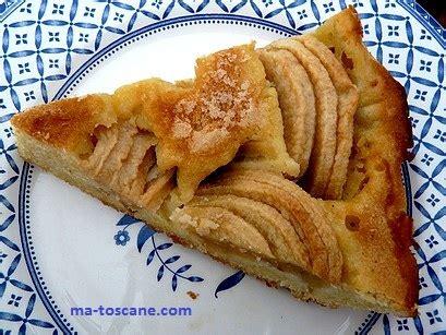 amandine aux pommes sans p 226 te ma toscane