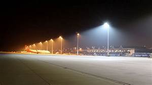 Munich airport tests ewo led flood lights for aprons and