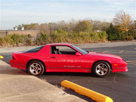 1987 Chevrolet Camaro -very Solid Iroc Z- New Paint- Sweet