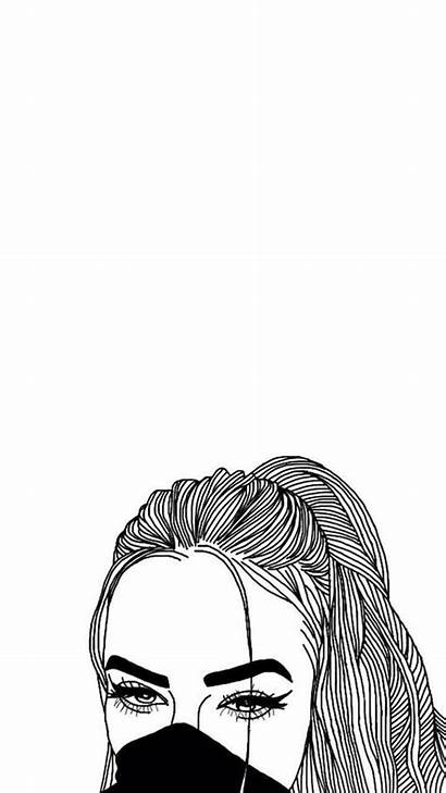 Drawings Drawing Outlines Outline Cool Girly Iphone