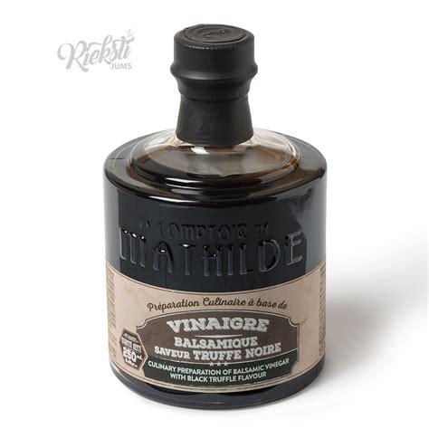 MATHILDE kulinārijas etiķis ar melnajām trifelēm, 250 ml ...