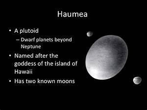 haumea dwarf planet
