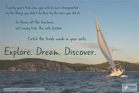 Boat Travel Quotes by Dose Of Inspiration A Travel Quote By