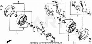 Honda Hrm21 Sva Lawn Mower  Usa  Vin  Mzav