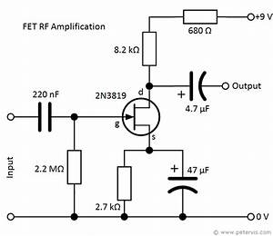 Fet Amplifier Circuit  U2013 Rf Amplification
