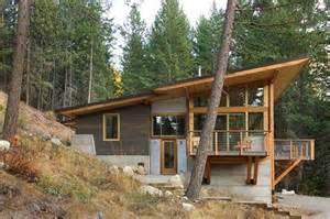 homes built into hillside wedge shape treehouse tree house designs