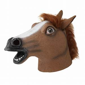 The gallery for --> White Horse Head Mask