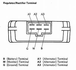 Wiring Diagram 6 Prong Rectifier 1995 Zx6e