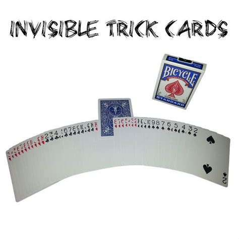 bicycle invisible deck trick invisible deck card trick mind blowing bicycle