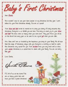 santa letter christmas times  comin pinterest
