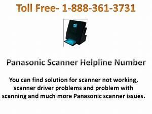 PANASONIC Scanner customer service 1 888 361 3731 Alabama ...