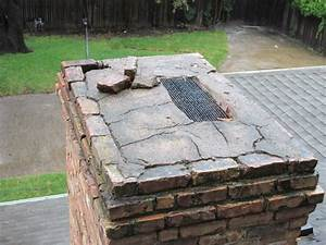 The Chimney Cap Is In Poor Condition And Repairs Will Be