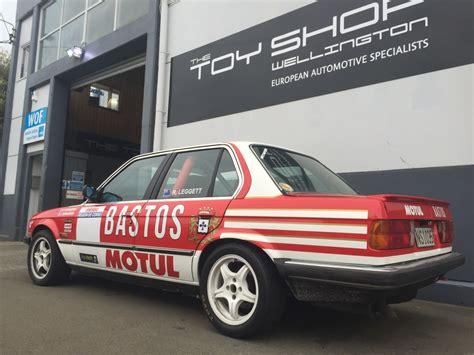 bmw tarmac rally car wellington european