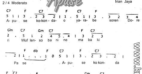 not angka lagu keroncong not angka dan not balok not angka lagu apuse