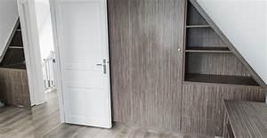 Commode Sous Pente : dressing sur mesure illkirch pfleger ~ Edinachiropracticcenter.com Idées de Décoration