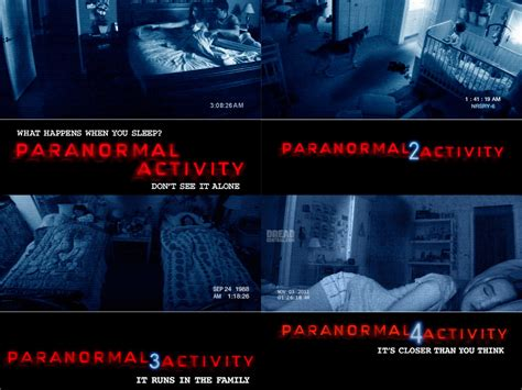 timeline paranormal activity wiki