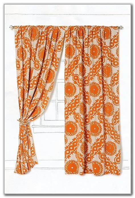 Burnt Orange Kitchen Curtains Curtains : Home Design Ideas