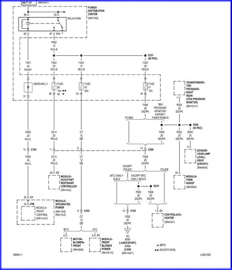Diagram Of Fuse Box For 2005 Chrysler 300 Limited by 05 Chrysler 300 Fuse Box Diagram 2005 Chrysler 300 Fuse