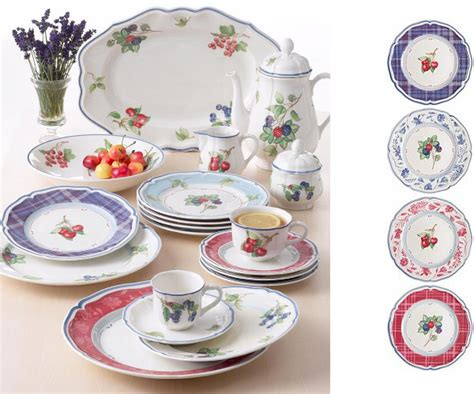 villeroy boch cottage style dinnerware from villeroy boch cottage inn collection