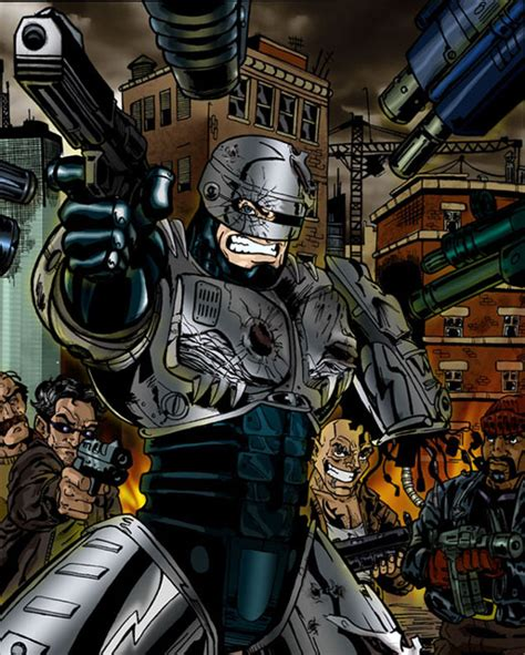 RoboCop related art made by fans for fans.