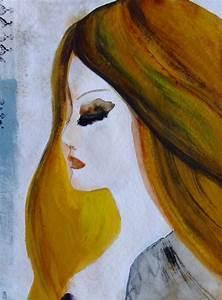 Peinture Visage Femme : 17 best ideas about dessin visage on pinterest dessiner un nez tutoriel dessin and visage dessin ~ Melissatoandfro.com Idées de Décoration