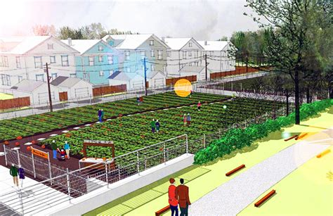 Plan For Urban Agriculture District To Revitalize Chicago