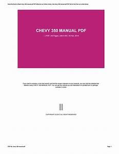 Chevy 350 Manual Pdf By Rkomo8