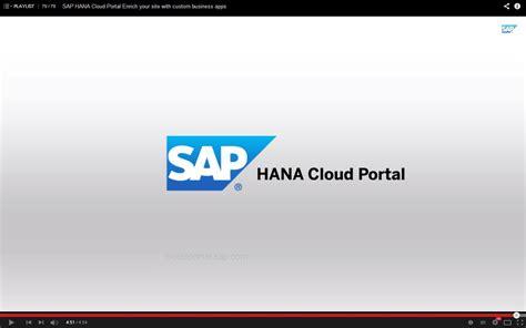 cloud portal sap hana cloud portal critic sap hana cloud portal