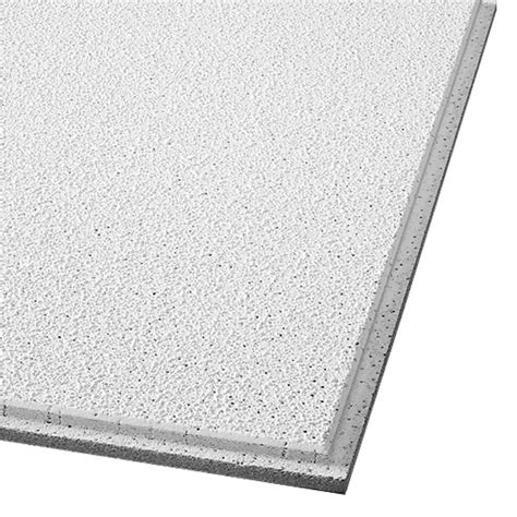 armstrong ceiling tile shop armstrong ceilings common 24 in x 24 in actual 23
