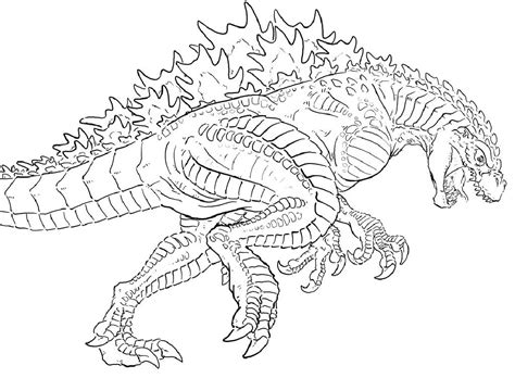 godzilla coloring sheets godzilla coloring pages fanart