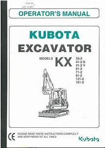 Kubota Excavator Kx36