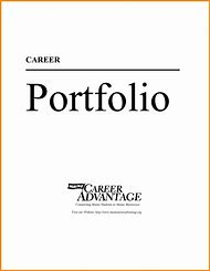 Best Professional Portfolio Cover Page Template - ideas and images ...