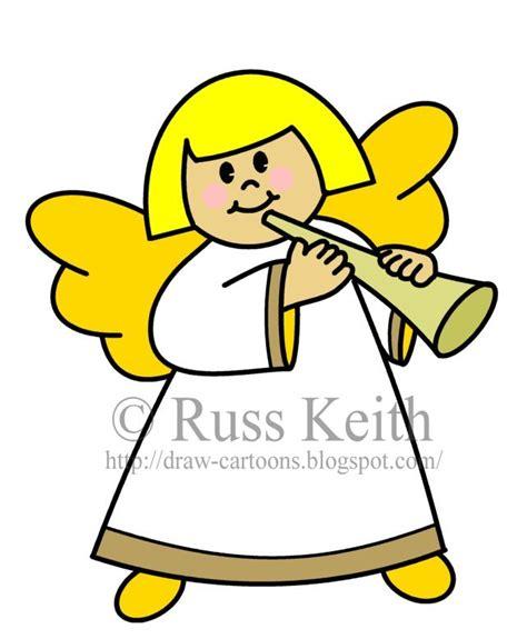 draw cartoons angel