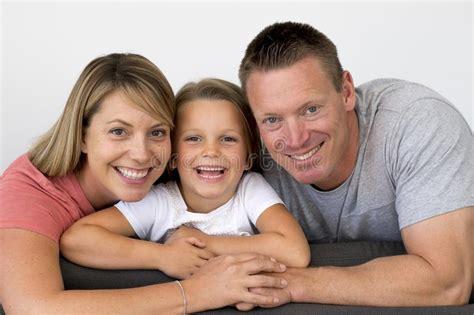 sweet loving family portrait  husband  wife holding