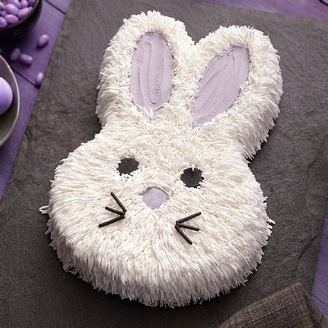 bunny cake wilton fluffy easter birthday pan rabbit cakes easy wlproj decorating cute food