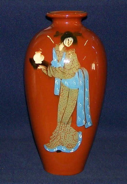 weller jap birdimal lady vase for sale antiques com classifieds
