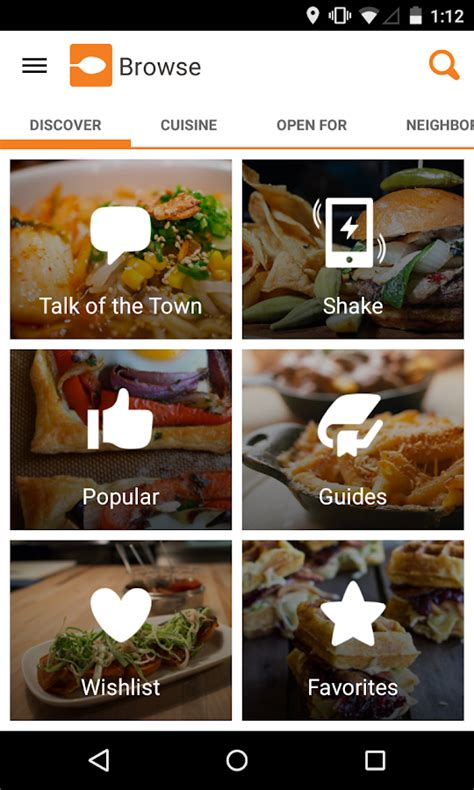 application cuisine android urbanspoon restaurant reviews android apps on play