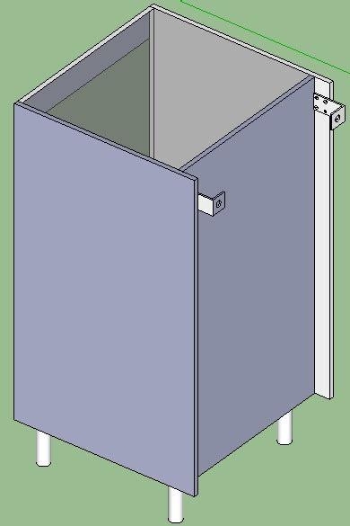 vide sanitaire cuisine construction bar de séparation cuisine et salle à manger