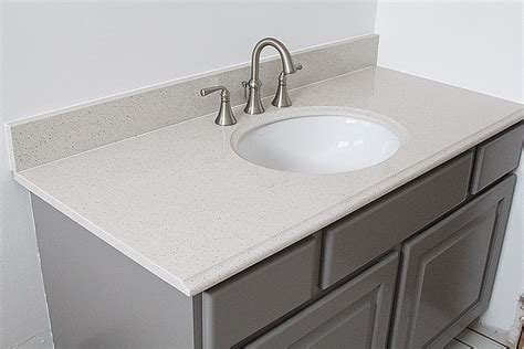 How To Install A Pre Made Vanity Top Withheart, Bathroom