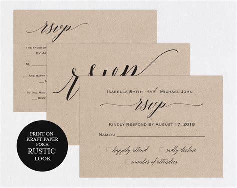 Rsvp Postcards Templates Wedding Rsvp Cards Rsvp Online