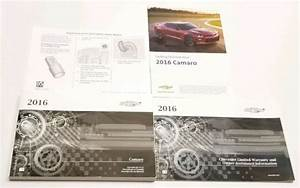 2016 Chevrolet Camaro Owners Manual Zl1 Z28 Ss Rs Lt Ls