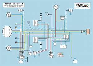 Moto Morini 350 Wiring Diagram