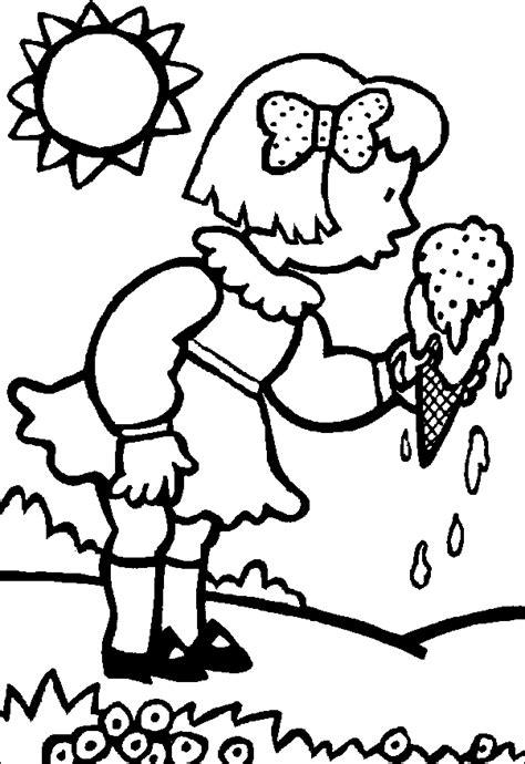 immagini da colorare per bambini estate estate disegni per bambini da colorare