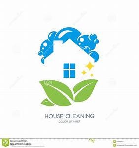 Cleaning Service Logo, Emblem Or Icon Design Template ...