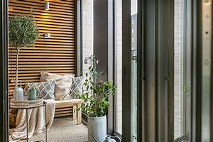 Warm, Scandinavian, Home, With, Cool, Balcony, 47, Sqm, U301b, Photos